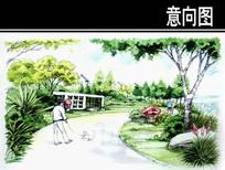 沧州某小区一轮宅间设计效果