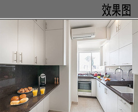 常见的厨房布置