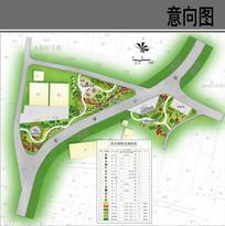 村庄绿化节点规划平面图 JPG