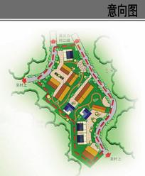 村庄住宅组团规划设计平面图 JPG