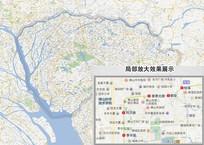 东莞高清地图 PSD