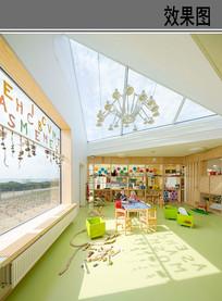 儿童室内游戏空间设计效果 JPG