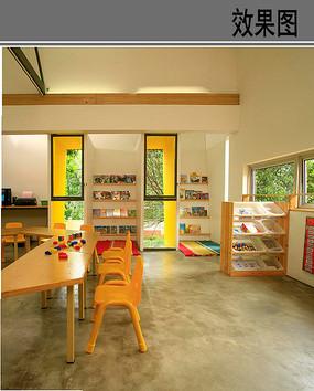 儿童室内游戏空间效果