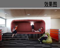 儿童休闲空间设计效果图 JPG