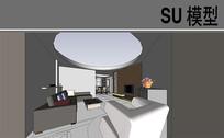 古典现代家装模型
