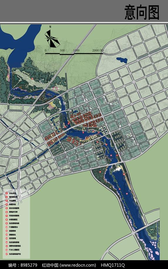 河道景观设计平面图图片