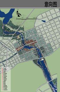 河道景观设计平面图