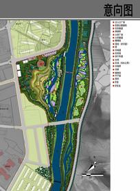 洪涝公园平面图