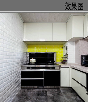 简约不简单的厨房