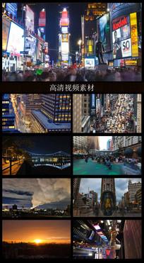 美国城市人文宣传视频素材