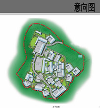 美丽乡村规划设计平面图 JPG