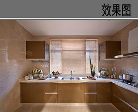 木质厨房设计