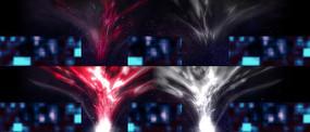 能量汇聚舞台背景视频