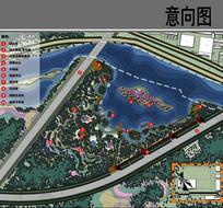 亲水生态景观设计平面