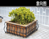 铁艺树池护木 JPG