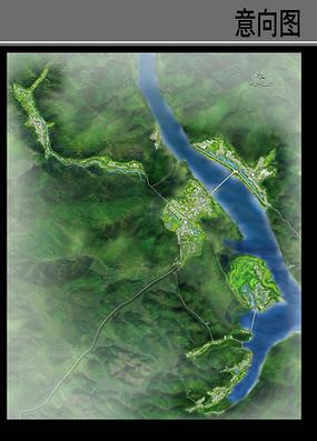 乡村景观设计总平面图
