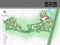乡村组团建设平面图