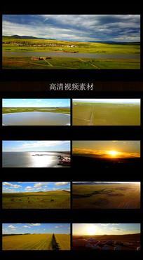 心生向往的蒙古大草原实拍视频