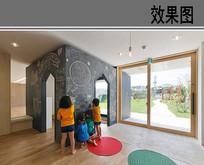 幼儿园室内涂鸦墙 JPG