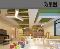 幼儿园音乐教室设计效果图 JPG