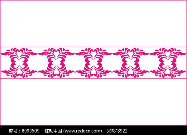 中式卷草移门图案图片