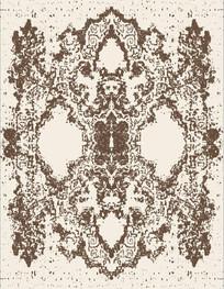 地毯花纹装饰印花图案