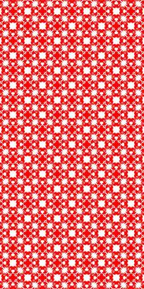 风情红花纹理图案