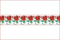 玫瑰移门图案