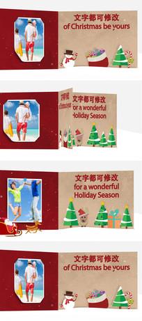 圣诞节新年电子贺卡模板