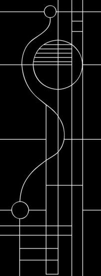线扣雕刻图案