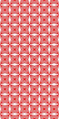 绽放红花纹理图案