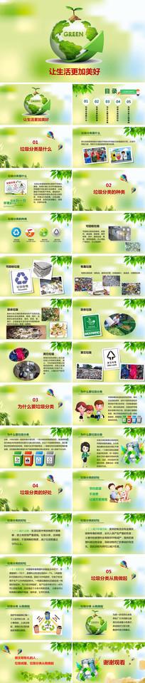 爱护环境保护地球PPT
