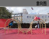 儿童游乐设施意向图