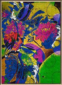 花卉油画装饰画