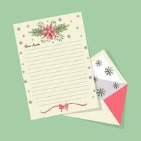 花纹图案信纸模板