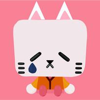 可爱猫咪插画