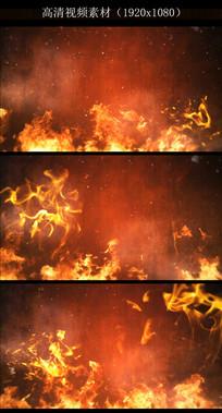 烈火燃烧视频背景素材