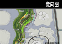 某花径道路朝雨流连景区平面图 JPG