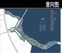 某华侨城景观平面图