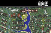 某景区规划度假地产平面图 JPG