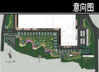 某卷烟厂花甸园平面图