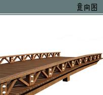 木栈桥素材