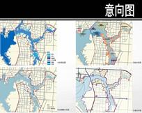 南湖三眼桥片区分析图