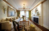 欧式风格客厅精致装修
