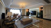 欧式风设计客厅装修 JPG