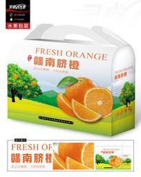 清新的橙子包装