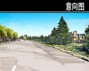上海某通道节点一手绘图