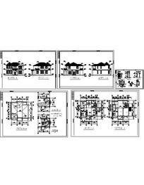 小别墅建筑CAD施工图