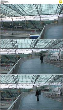 波特兰机场实拍视频素材