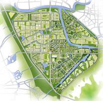 城市规划设计平面图 JPG